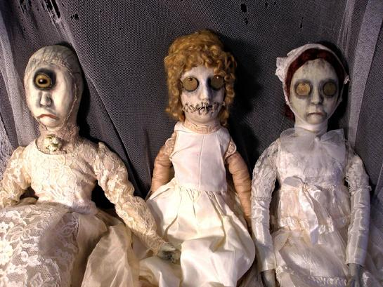 Gothic Dead Dolls By D L Marian